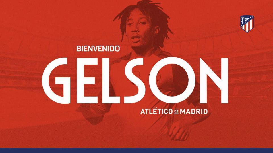 OFICIAL: Atlético Madrid anuncia Gelson Martins