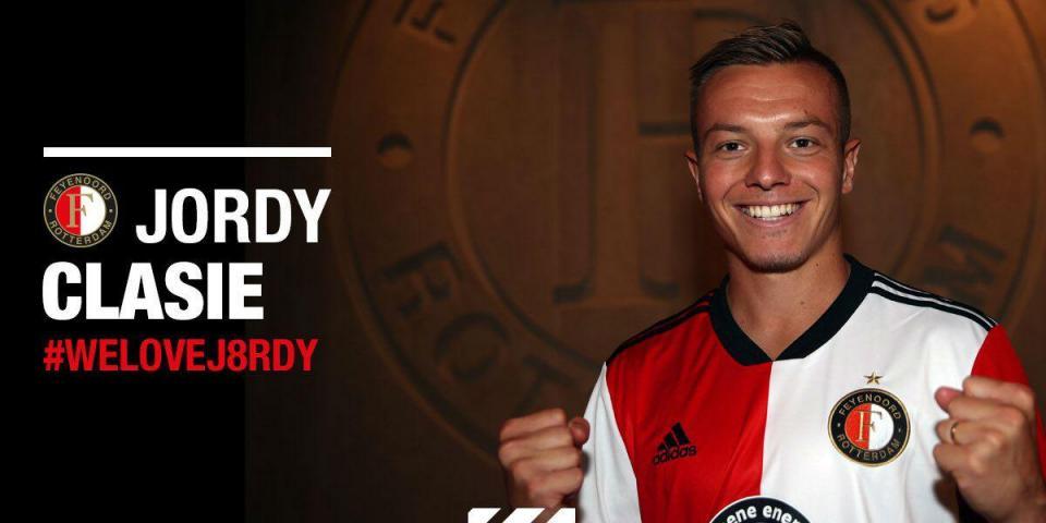 Oficial: Jordy Clasie regressa ao Feyenoord