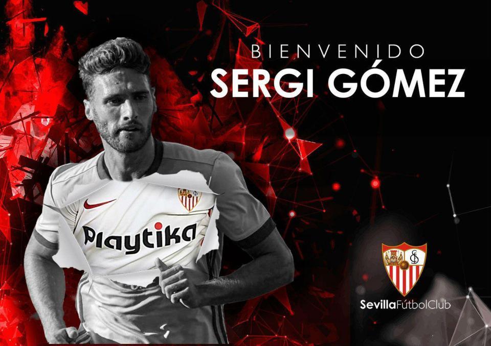 Oficial: Sevilha contrata Sergi Gómez