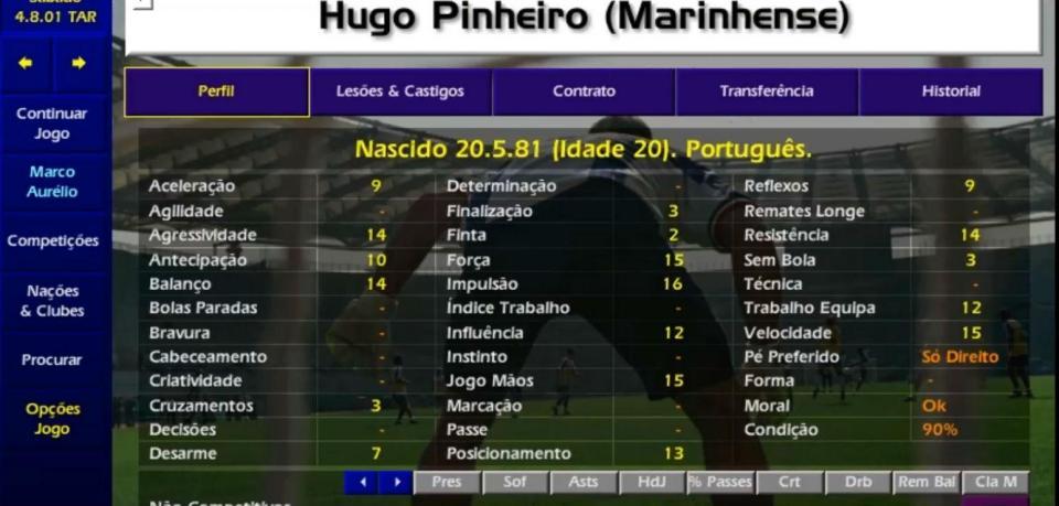 Hugo Pinheiro regressa ao Marinhense, onde nasceu a lenda do CM