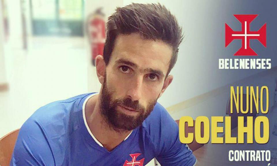 OFICIAL: Nuno Coelho (ex-Arouca) é reforço do Belenenses