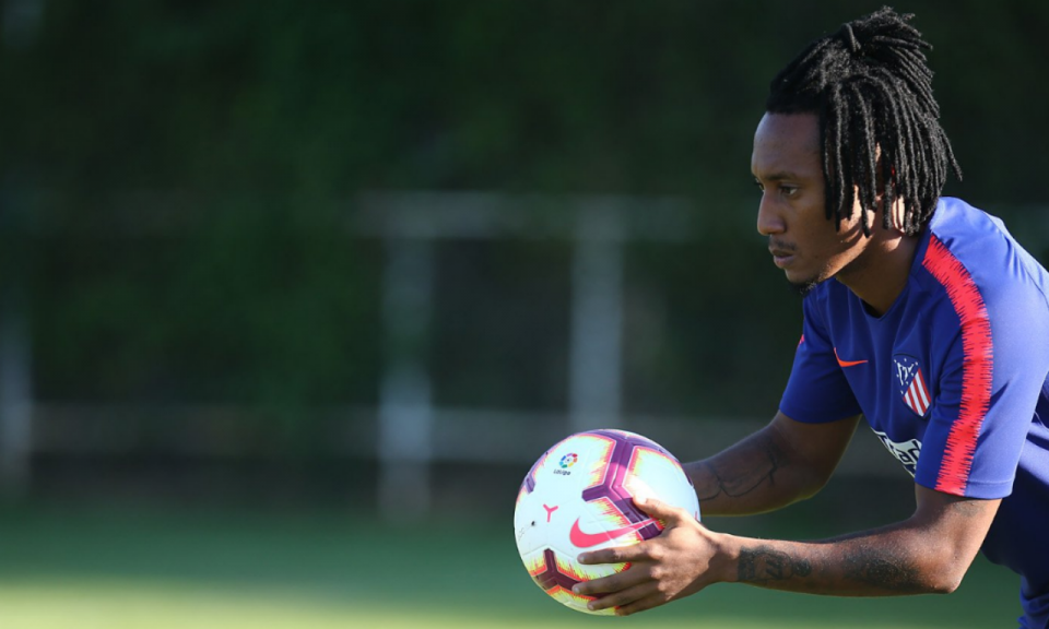 Gelson Martins já treina no centro de treinos do At. Madrid