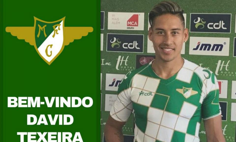 OFICIAL: Texeira regressa a Portugal para jogar no Moreirense