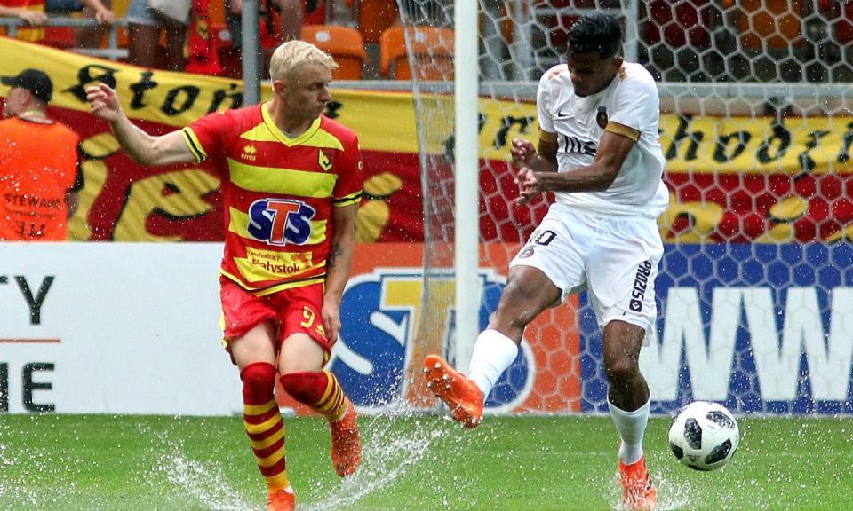 LE (2.ª Pré): Jagiellonia Bialystok-Rio Ave, 1-0 (resultado final)