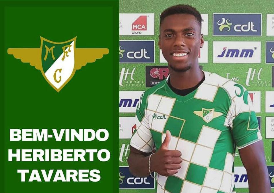 Moreirense confirma Heriberto Tavares por empréstimo do Benfica