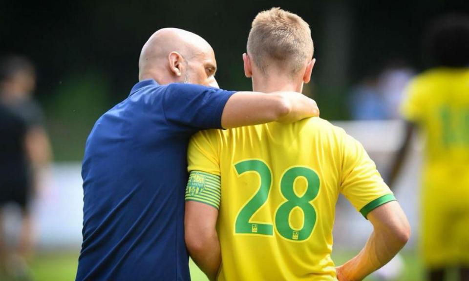 Rongier elogia futebol de Miguel Cardoso: «Gosto da visão dele»