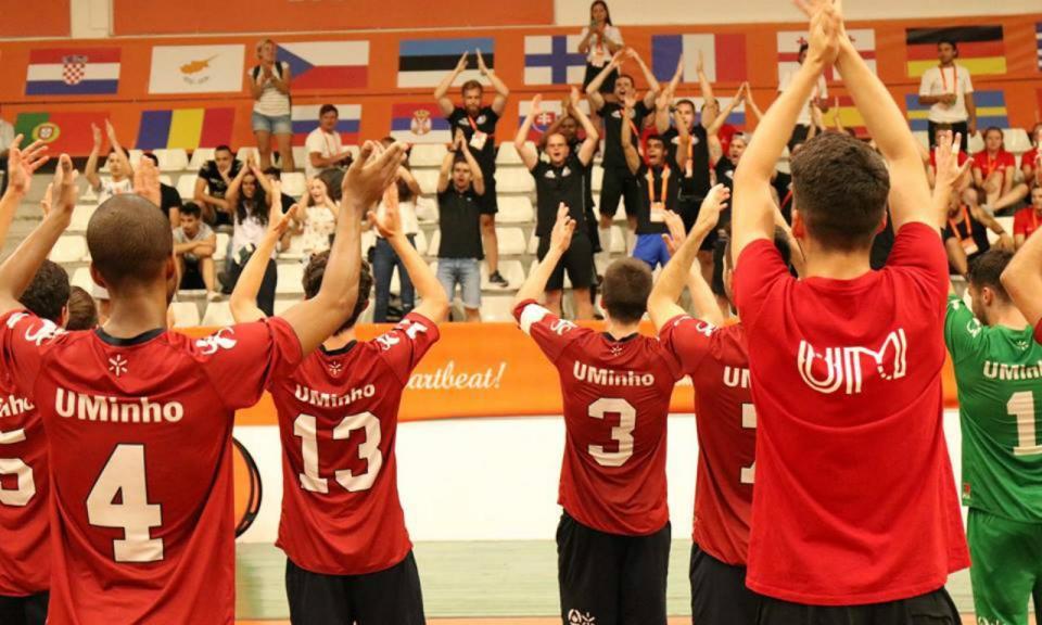 Europeus Universitários: Minho apura-se para a final de futsal