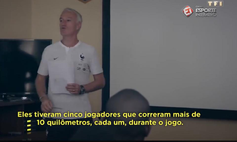 VÍDEO: a «dura» de Deschamps após o jogo com a Austrália