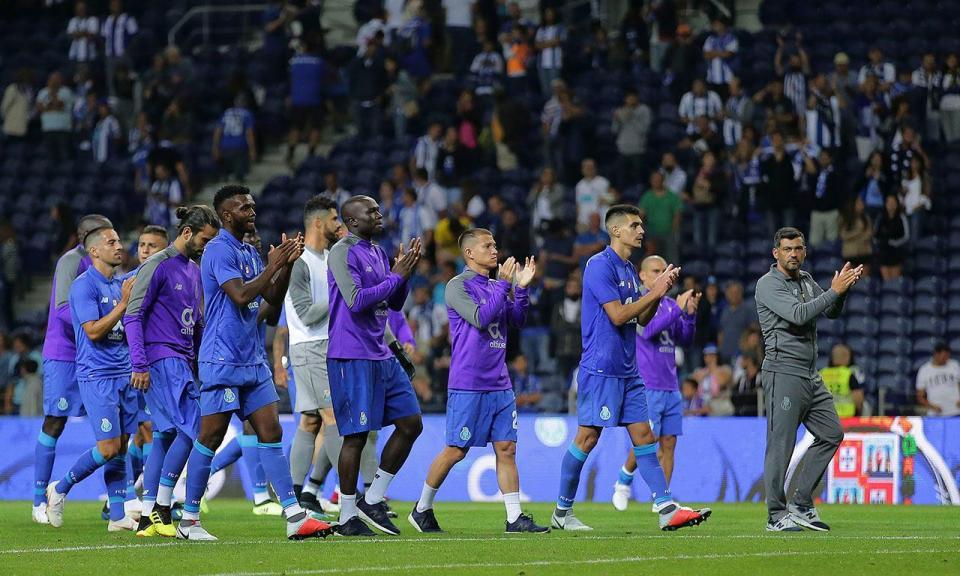 FC Porto: quinto empate em 15 apresentações no Dragão