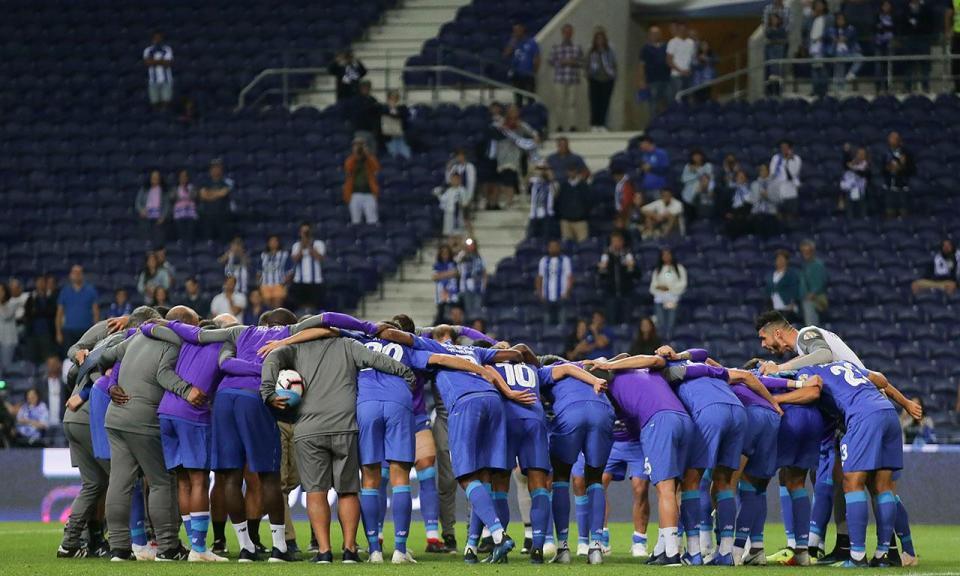 FC Porto: três indisponíveis a dois dias da Supertaça