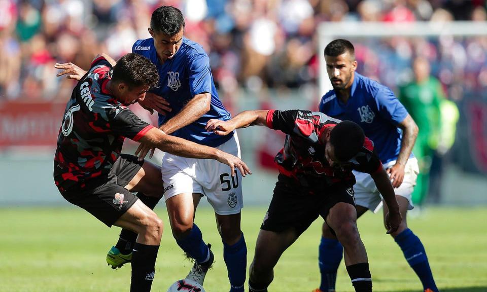 Jogo particular: Feirense perde com a Académica