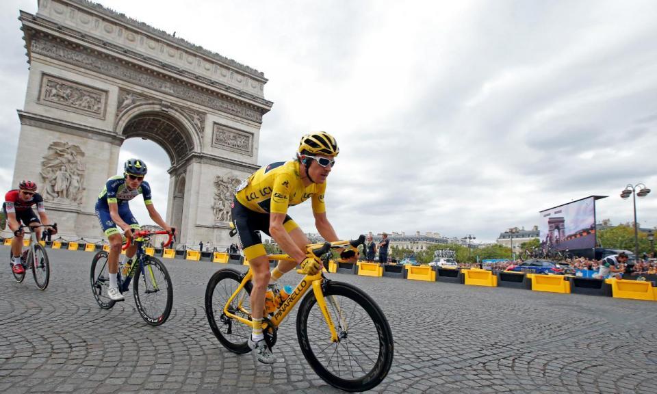 Ciclismo: Geraint Thomas confirma vitória na Volta a França