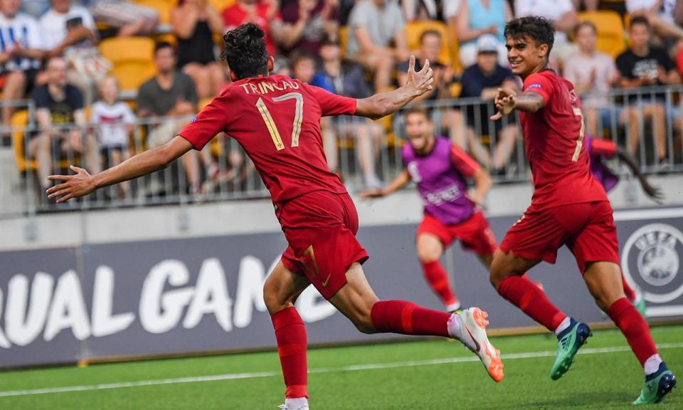 Euro sub-19: Jota e Trincão terminam como melhores marcadores