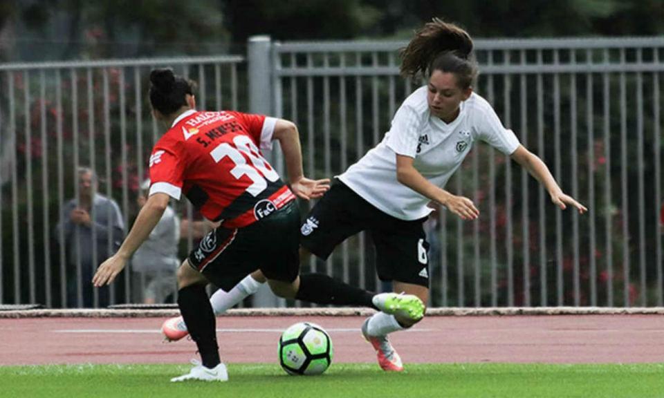 Benfica: nova equipa feminina marca 18 golos no primeiro teste