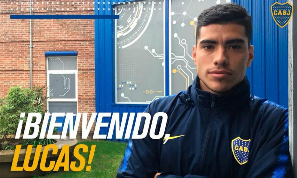 OFICIAL: Lucas Olaza no Boca Juniors