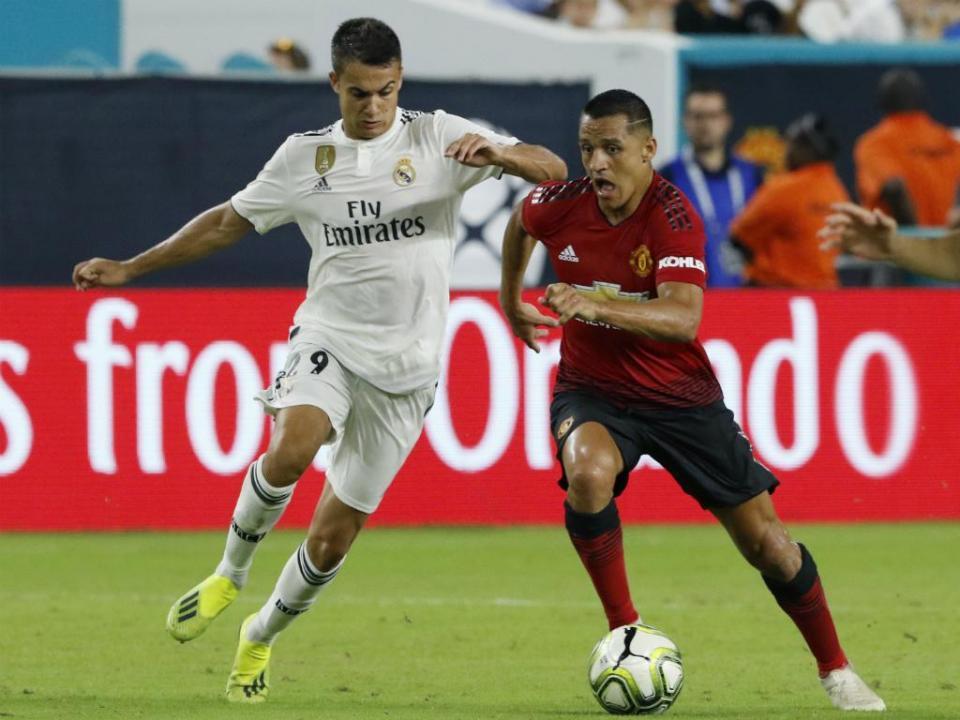 Manchester United vence Real Madrid no primeiro teste de Lopetegui