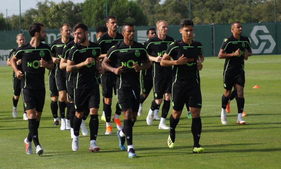 Sporting começou a preparar Moreirense com dois treinos
