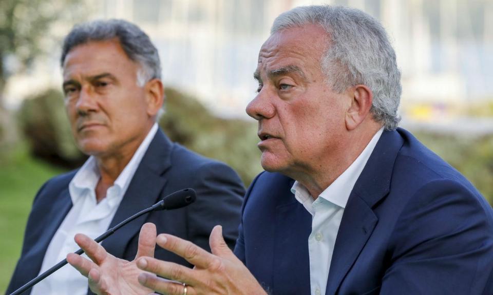 Sporting: candidatura de Ricciardi chegou... ao Tinder