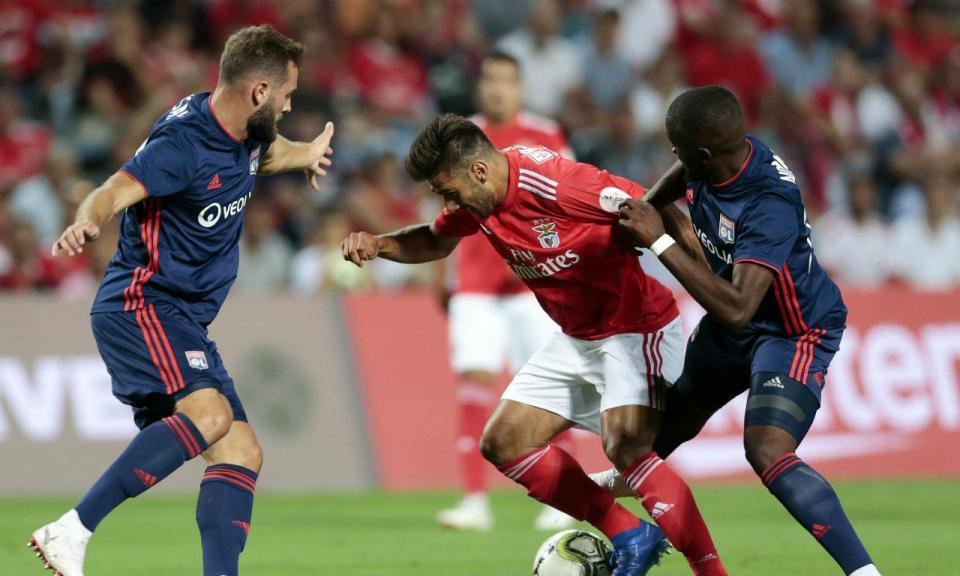 Benfica-Lyon, 2-3 (destaques)