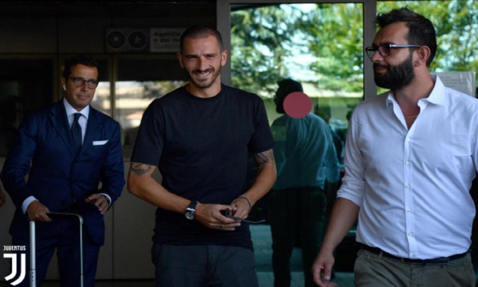 Bonucci: «Eu queria voltar a casa, senti a falta da Juventus.»