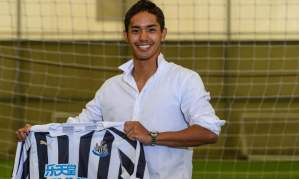OFICIAL: Yoshinori Muto é reforço do Newcastle