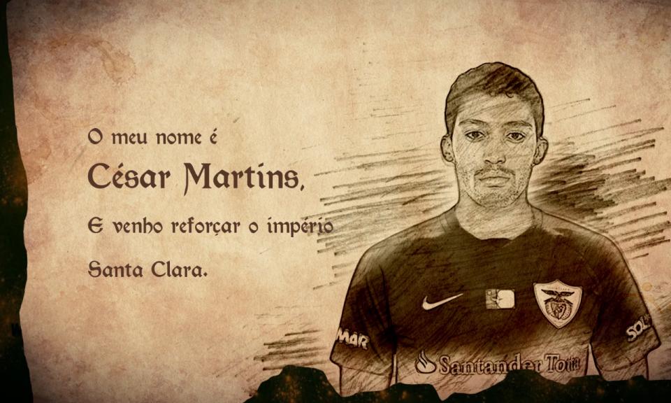 OFICIAL: César deixa o Benfica e assina pelo Santa Clara