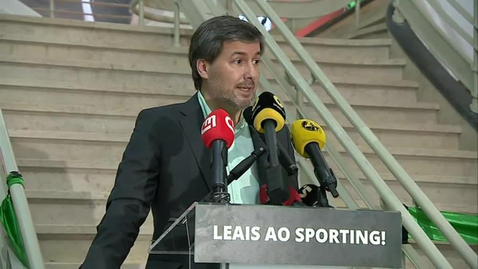 Sporting: Bruno de Carvalho desiste da providência cautelar