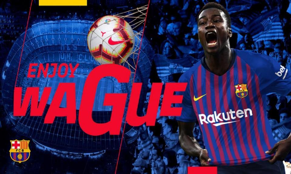 OFICIAL: Barcelona anuncia princípio de acordo por Wagué