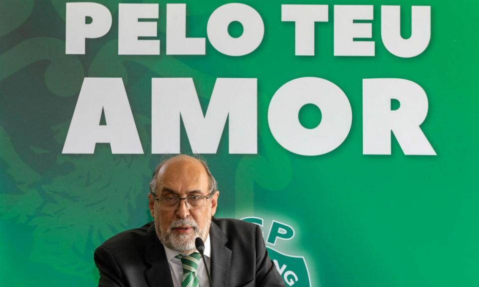 Dias Ferreira oficializa candidatura à presidência do Sporting