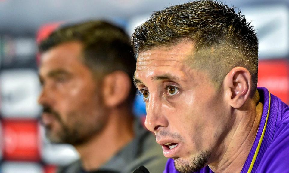 Herrera: «A minha cabeça está aqui. Como capitão tenho de dar o exemplo»
