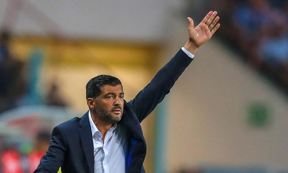 Supertaça: o que disse Conceição a José Mota no final do jogo?