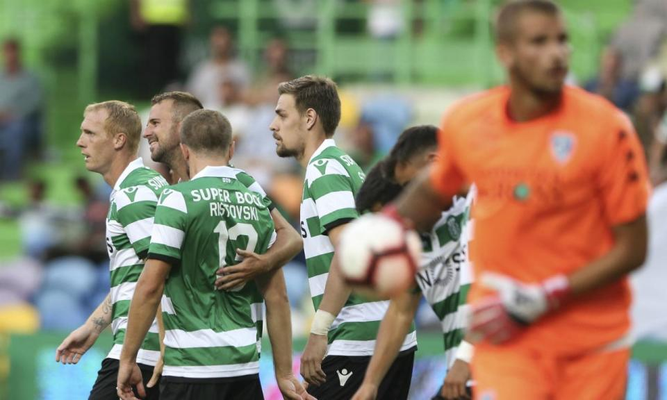 Moreirense-Sporting (onzes): Peseiro lança Petrovic no meio