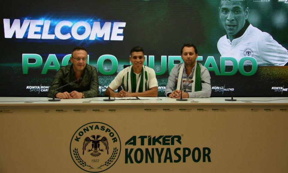 OFICIAL: Hurtado deixa V. Guimarães e é reforço do Konyaspor