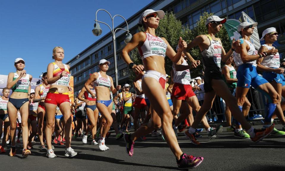 Inês Henriques é campeã da Europa dos 50km marcha