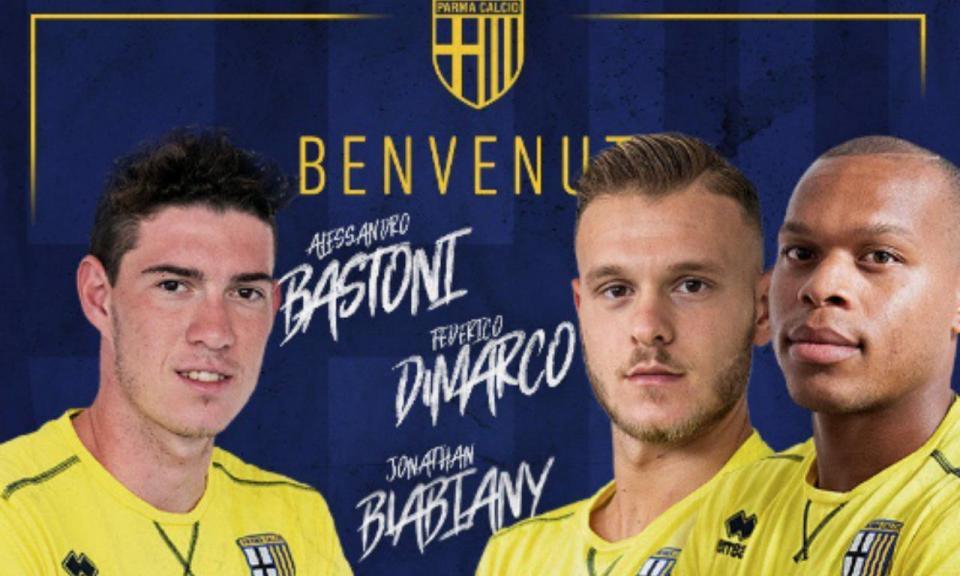 OFICIAL: Parma reforça-se a triplicar no Inter de Milão