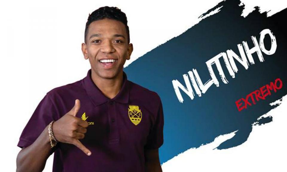 OFICIAL: Niltinho é reforço do Desp. Chaves