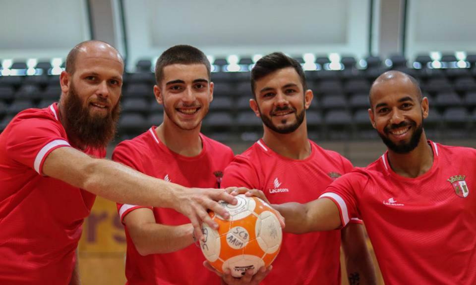 Futsal: Sp. Braga/AAUM garante quatro reforços