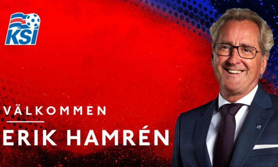 OFICIAL: Erik Hamrén é o novo selecionador da Islândia