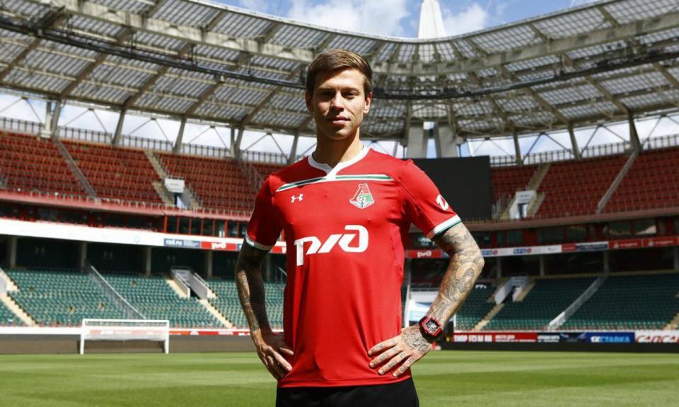 OFICIAL: Smolov é o novo colega de Eder e Manuel Fernandes