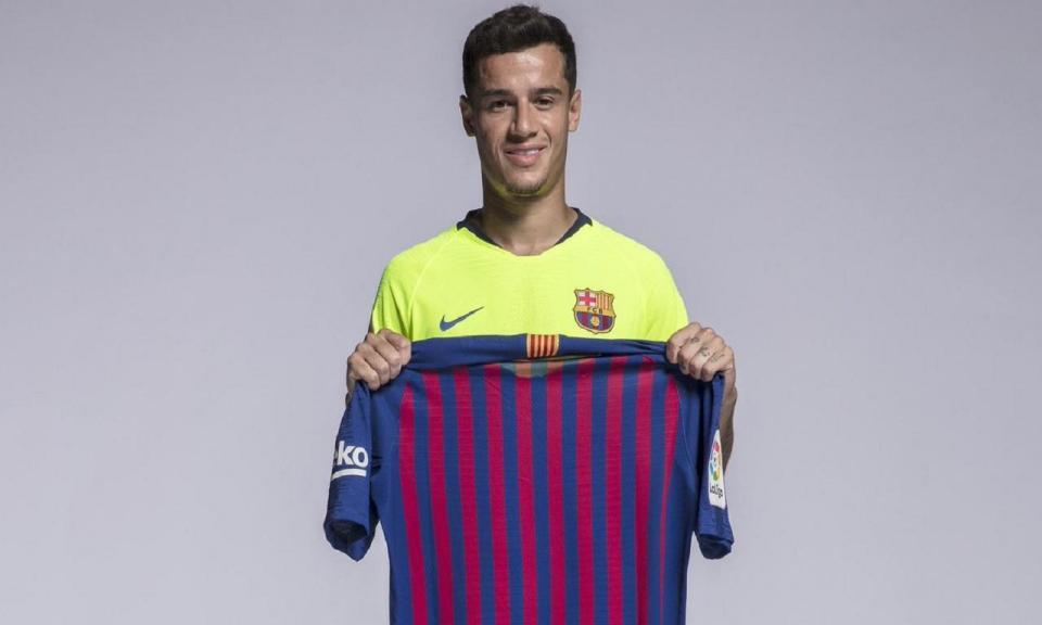 Barcelona anuncia mudança de número de Coutinho