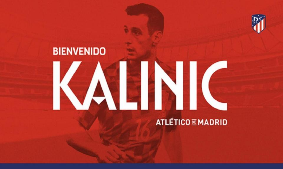 Atlético de Madrid oficializa chegada de Kalinic