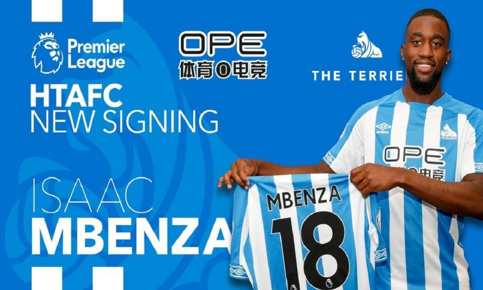 OFICIAL: Isaac Mbenza é reforço do Huddersfield