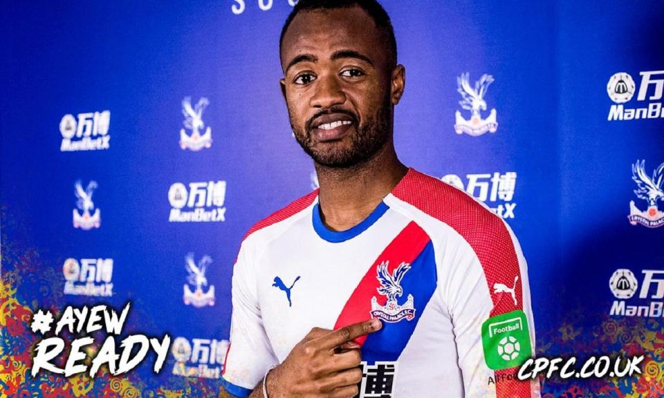 OFICIAL: Jordan Ayew reforça Crystal Palace