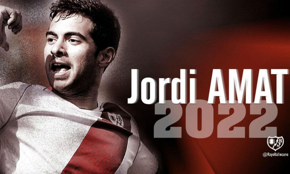 OFICIAL: Swansea vende Jordi Amat ao Rayo Vallecano