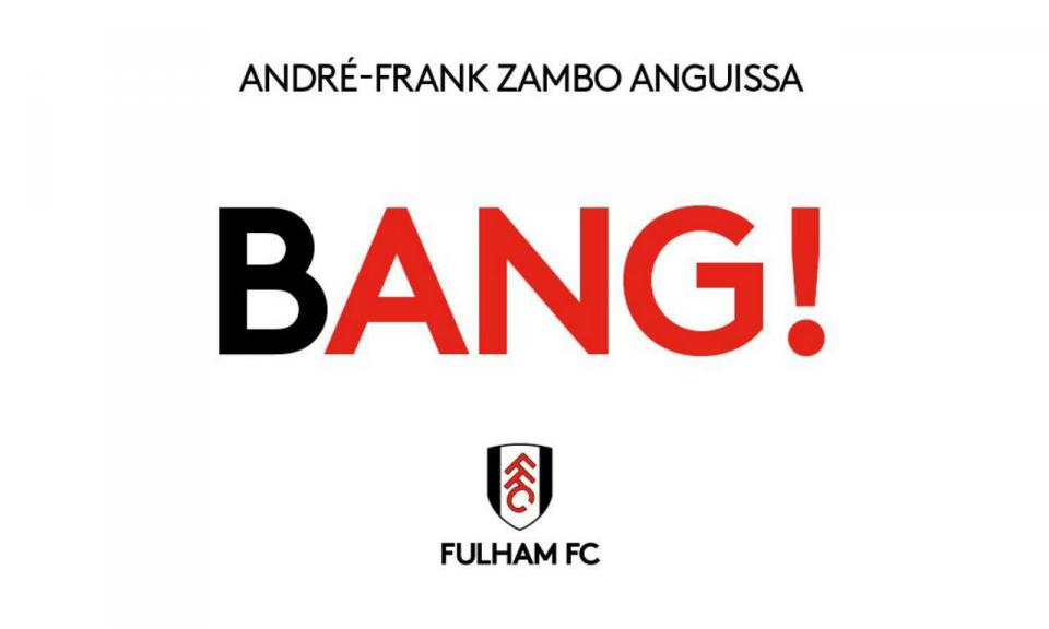 OFICIAL: Fulham anuncia quinto (!) reforço do dia