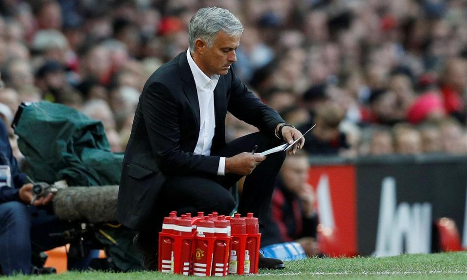 Mourinho: «Foi um jogo em que precisava de fazer seis substituições»