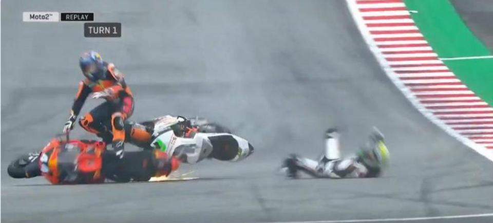 Vídeo: O acidente que envolveu Miguel Oliveira nos TL3