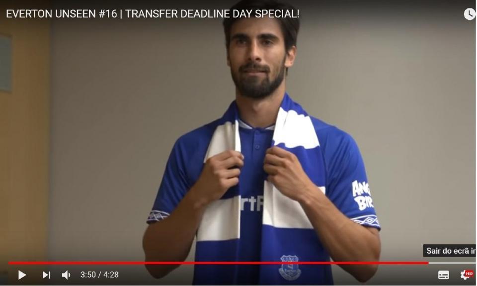 VÍDEO: a agitação do Everton para contratar Mina, André Gomes e Bernard