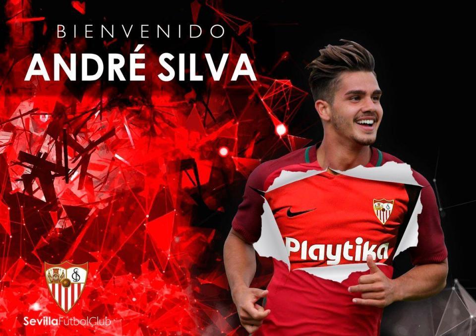 OFICIAL: André Silva no Sevilha por empréstimo