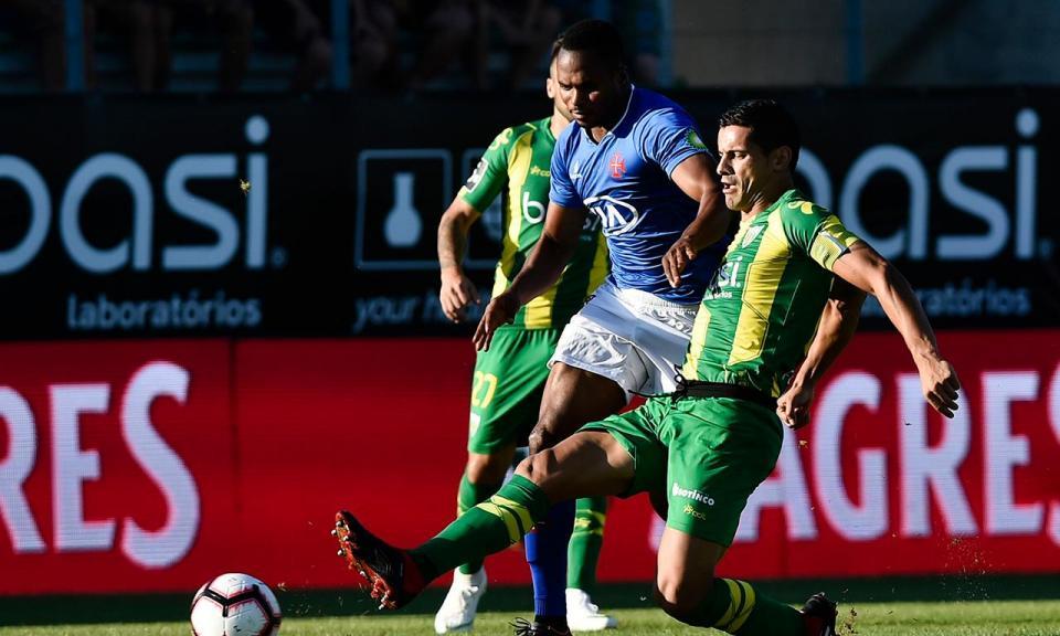 Tondela-Belenenses, 0-1 (resultado final)